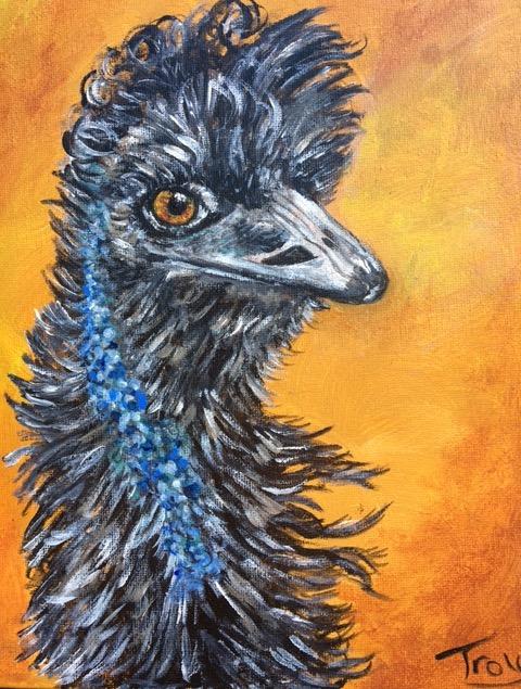 Oscar The Emu
