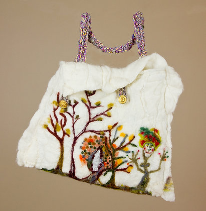 #3 Felted Fairy Tale Bag Composition