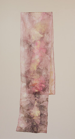 Natural Dying On Silk