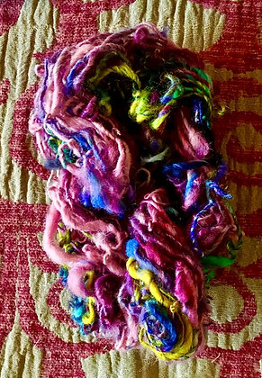 #496 Flower Patch Handspun Wool