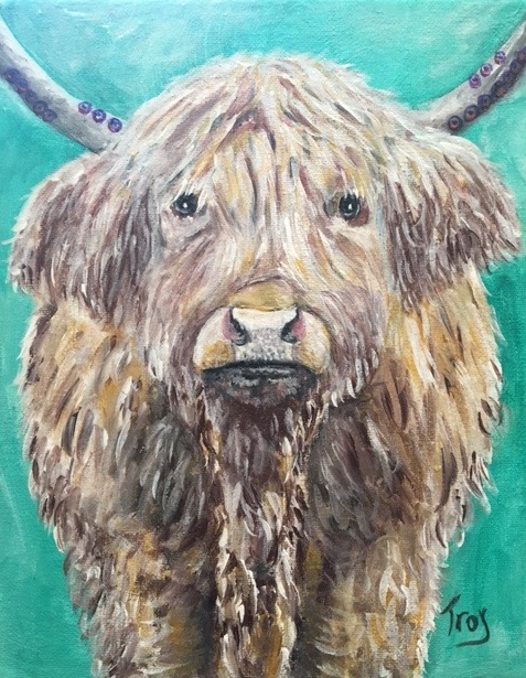 The Strength of th Highland Cow