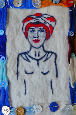 Lady With Turban
