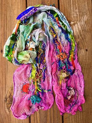 #515 Mishmosh Textile Scarf