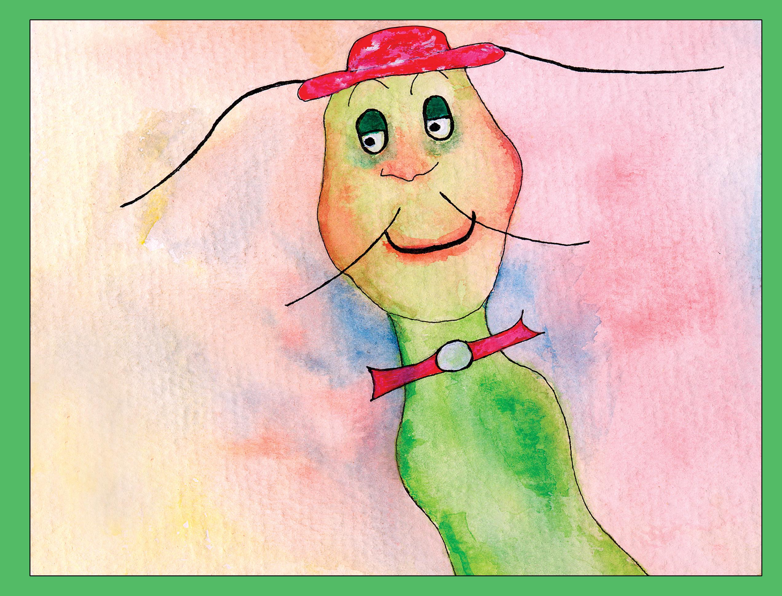 Slick The Snail Children's Book
