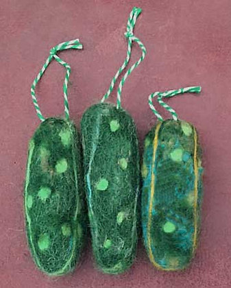 #445C Felted Ornaments For Class