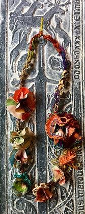 #514 Nordic Summer Textile Necklace