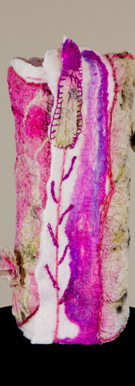 #316 Felted Lamp