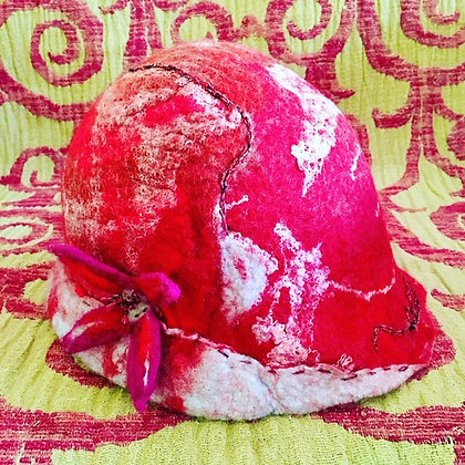 #472 Cool Spring Day Felted Hat