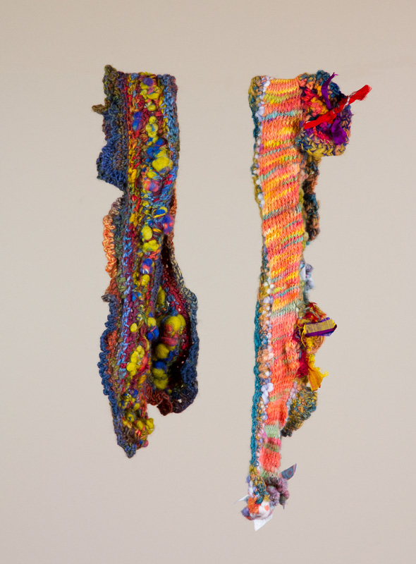 Crocheted & Knitted Scarves