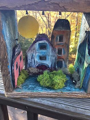 Small Houses Shadowbox