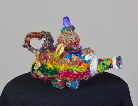 Textile Teapot