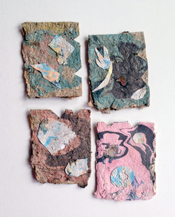 Handmade Recycled Paper Cards