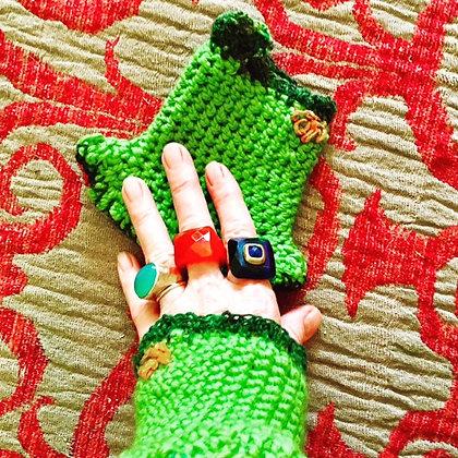 #493 Winter Fingerless Gloves