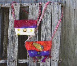Wet Felted Bags