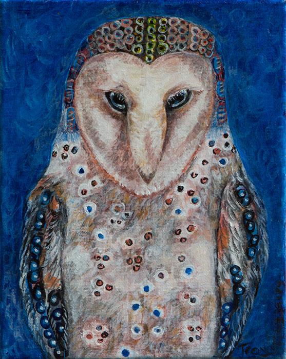Comtemplative Owl