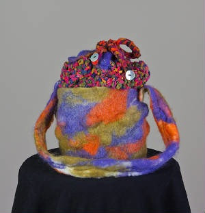 #5 Felted Bubble Purse