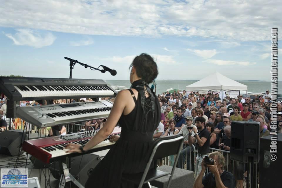 Live at Crescendo festival, France