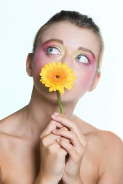 colorful make up/editorial