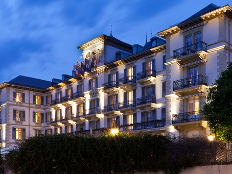 My job in Grand Hotel du Lac, Vevey (Switzerland)