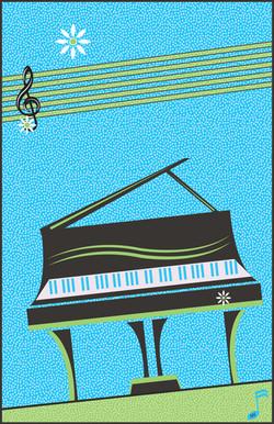 Contemporary Springtime Piano
