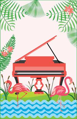 Flamingo Piano Cover-01-01