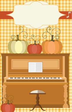 Fall Piano Party
