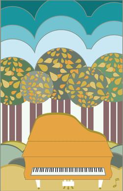 Fall Foliage with piano-01