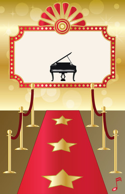 Red Carpet Piano