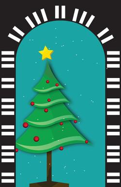 Christmas Tree  Piano Arch-01