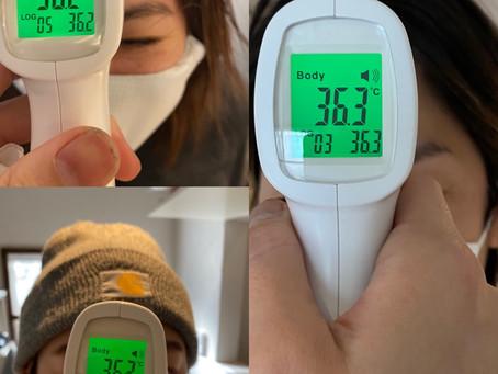1月19日 スタッフ検温