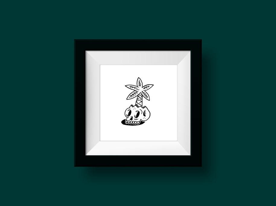 Illustration / Skulls