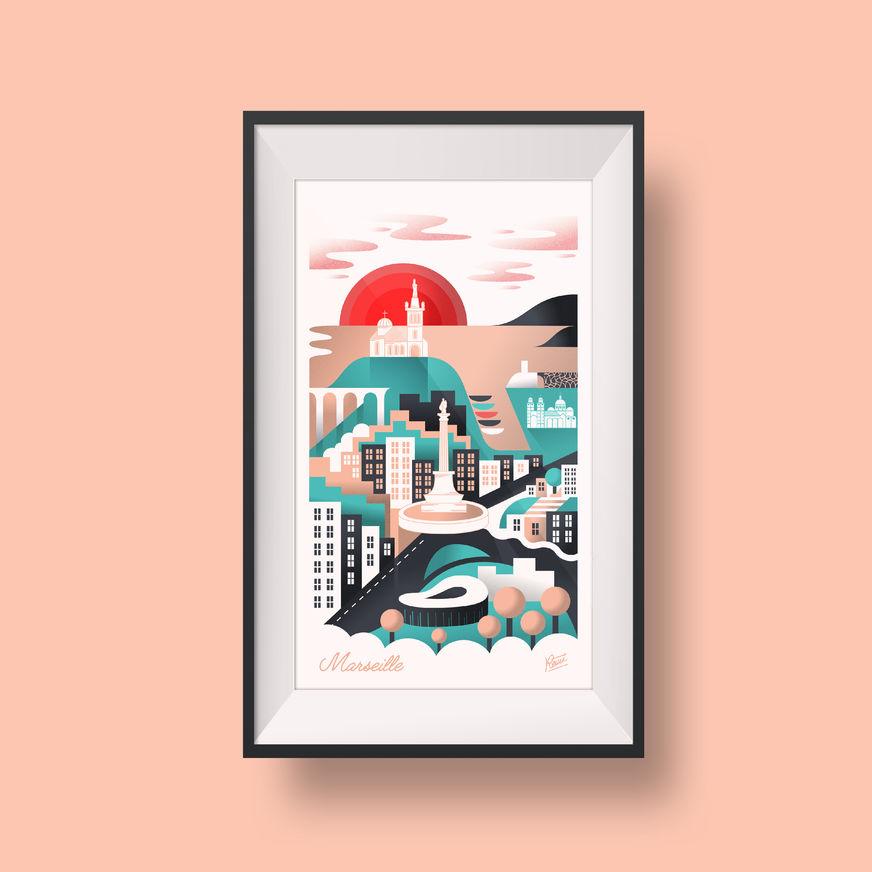 Illustration / Marseille