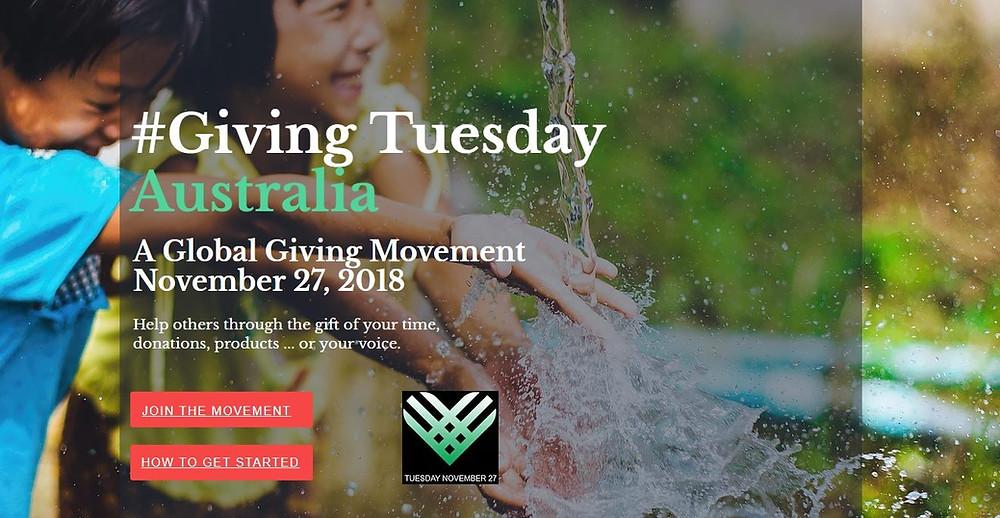 Giving Tuesday 2018 Australia K Franc Social