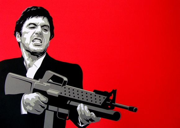 Scarface by Matt Gorman
