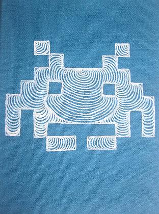 LSG Designs A5 Canvas Blue