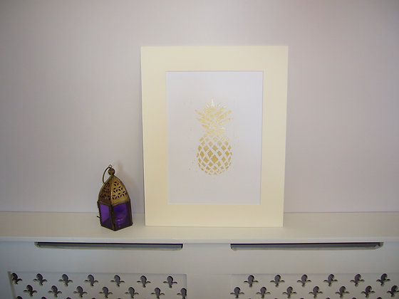 Limited Edition Gold Pineapple
