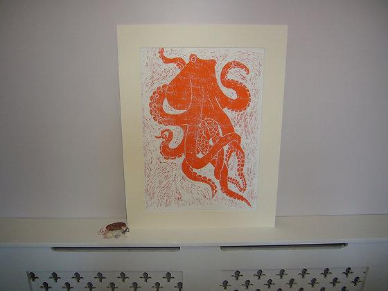 A3 Octopus Print