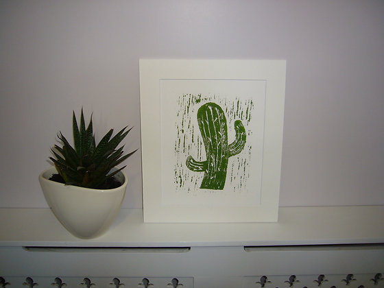 Happy Cactus Print