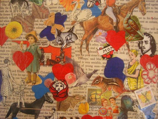 Collage by Belinda Maria Longsden