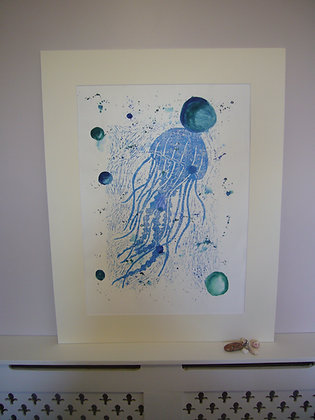 Water Jellyfish Print