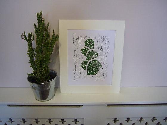 Bubble Cactus Print