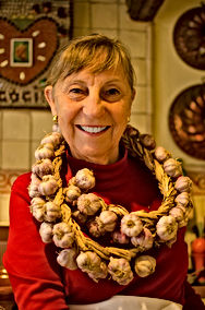 Kirsten West garlic necklace