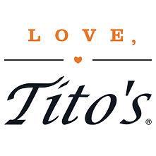 Love, Tito's logo