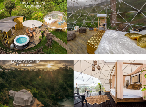 Glamping  -The new fancy vacation