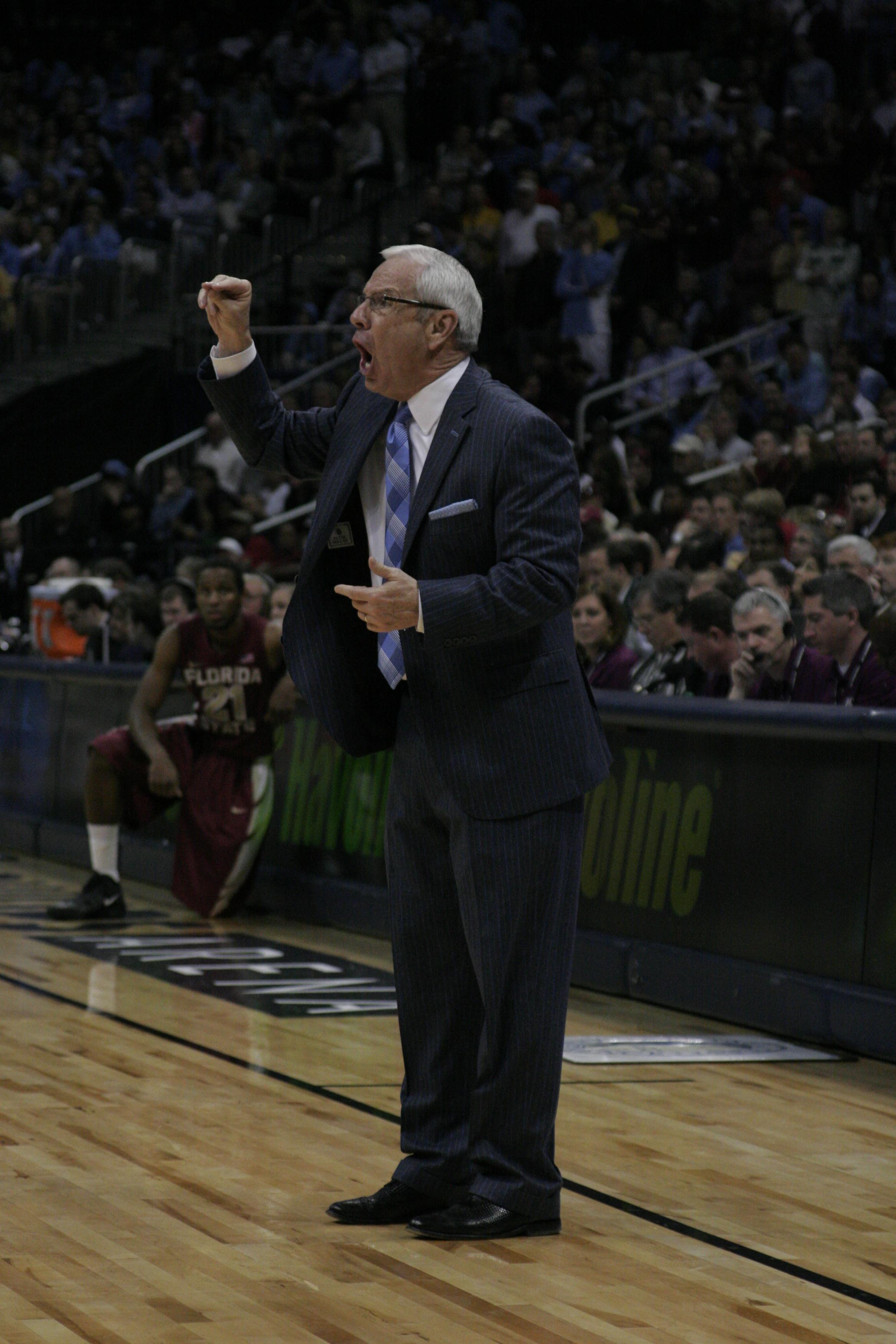 UNC Coach Williams