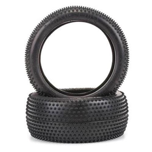 Schumacher Mini Pin 1-8th Tyre - Silver (pr)