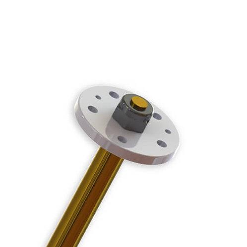TKR6169 – Shock Piston (CNC, flat/flat, 5×1.5 + 2×1.0)