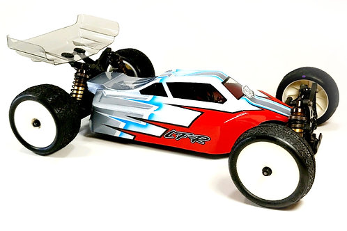 KYOSHO ZX7 - LFR A2 TACTIC BODY WITH 2 WINGS (CLEAR)