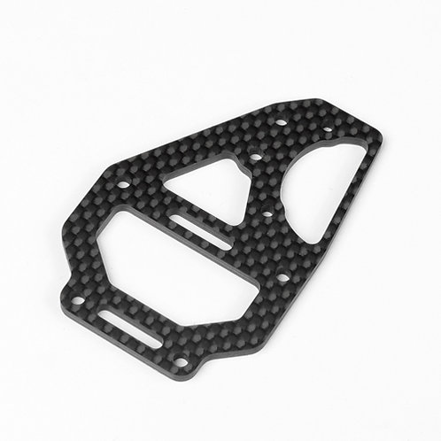TKR6635C - Center Diff Top Plate and Fan Mount (carbon fiber, EB410)