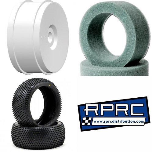Mini Pins Yellow / GRP Wheels / Schumacher Foam
